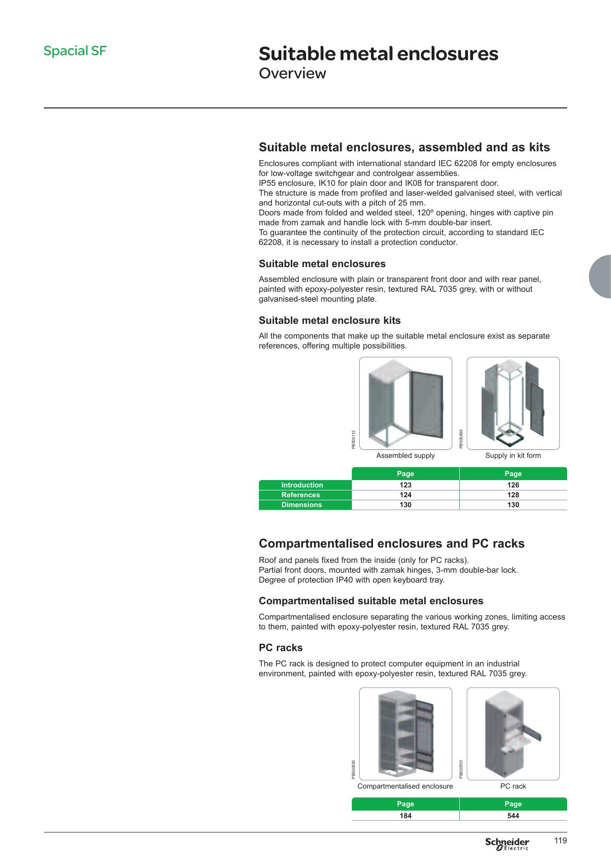Suitable metal enclosures   Manualzz