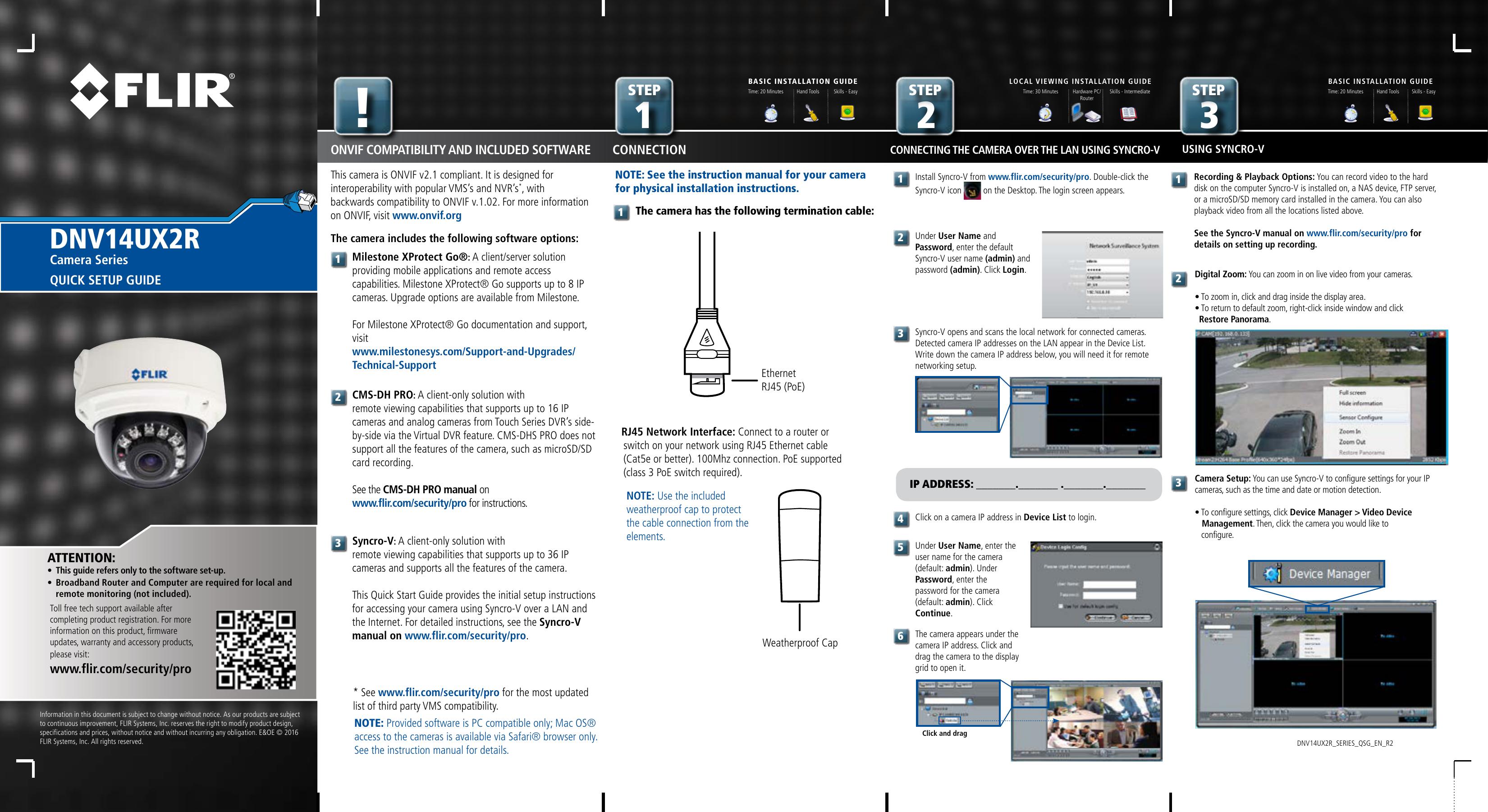 Syncro IP - FLIR Systems | manualzz com