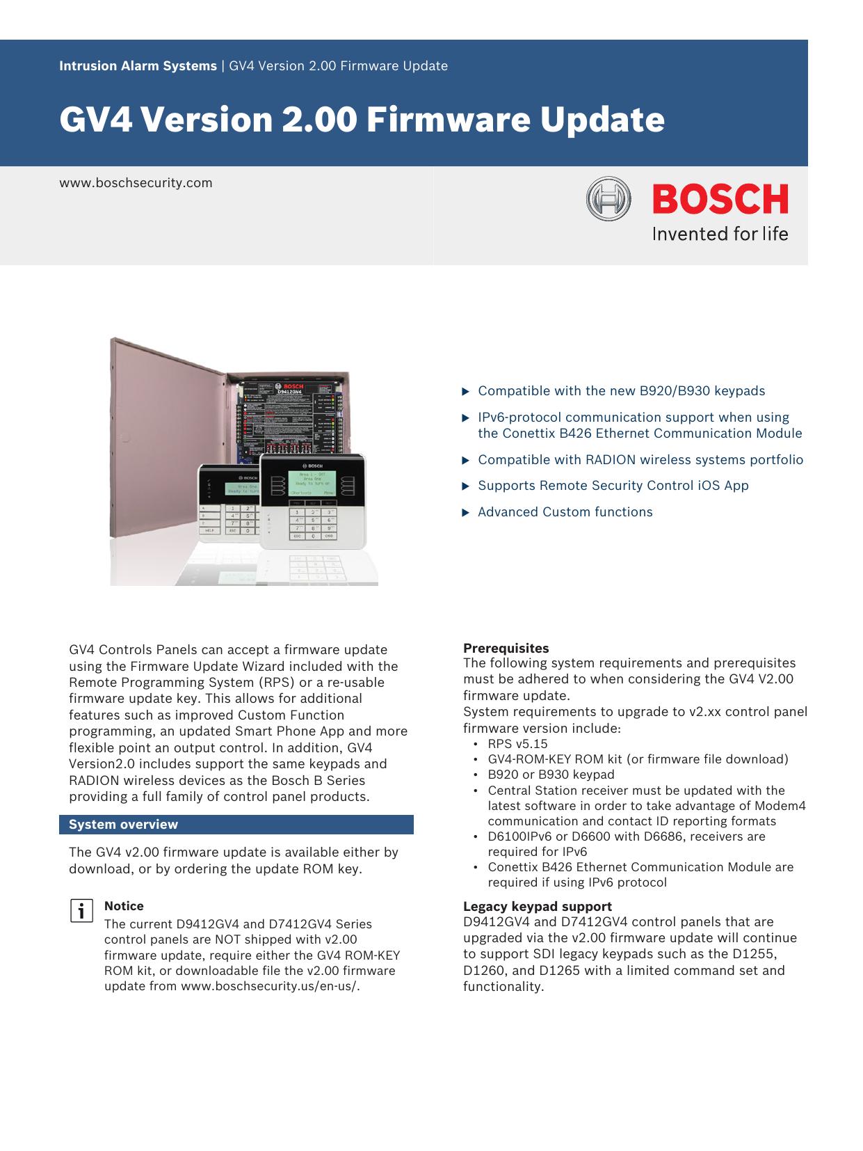 GV4 Version 2 00 Firmware Update | manualzz com
