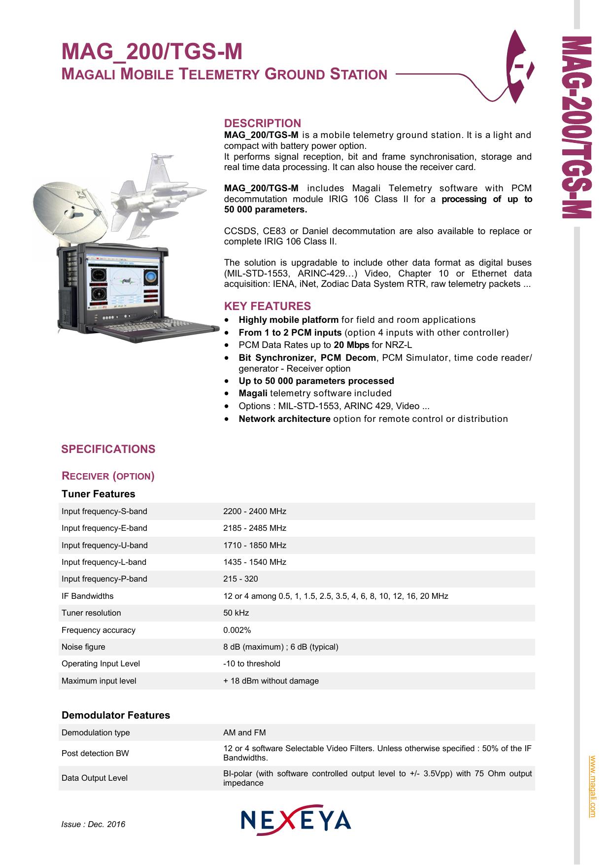 Mag 200 Tgs M Manualzz