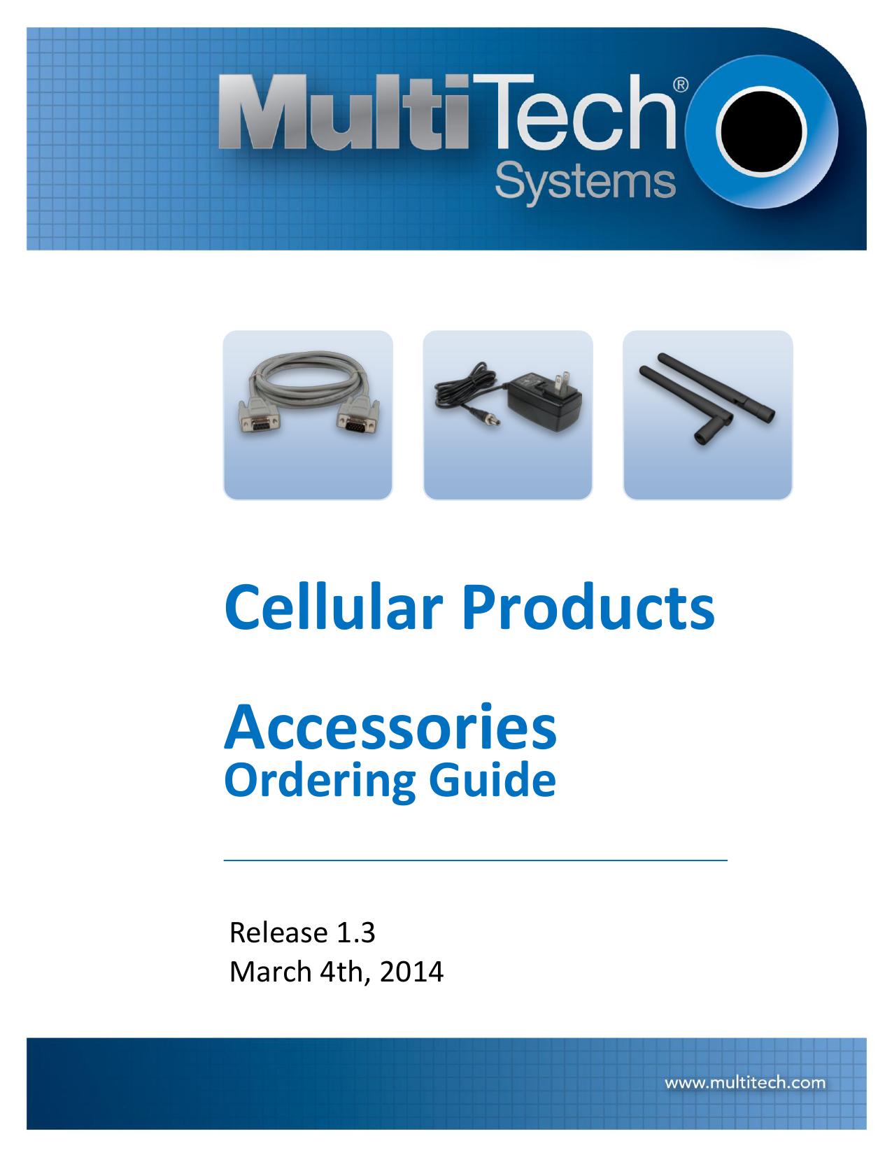 Multitech Systems MultiModem rCell MTCBA-C1-EN2-N3