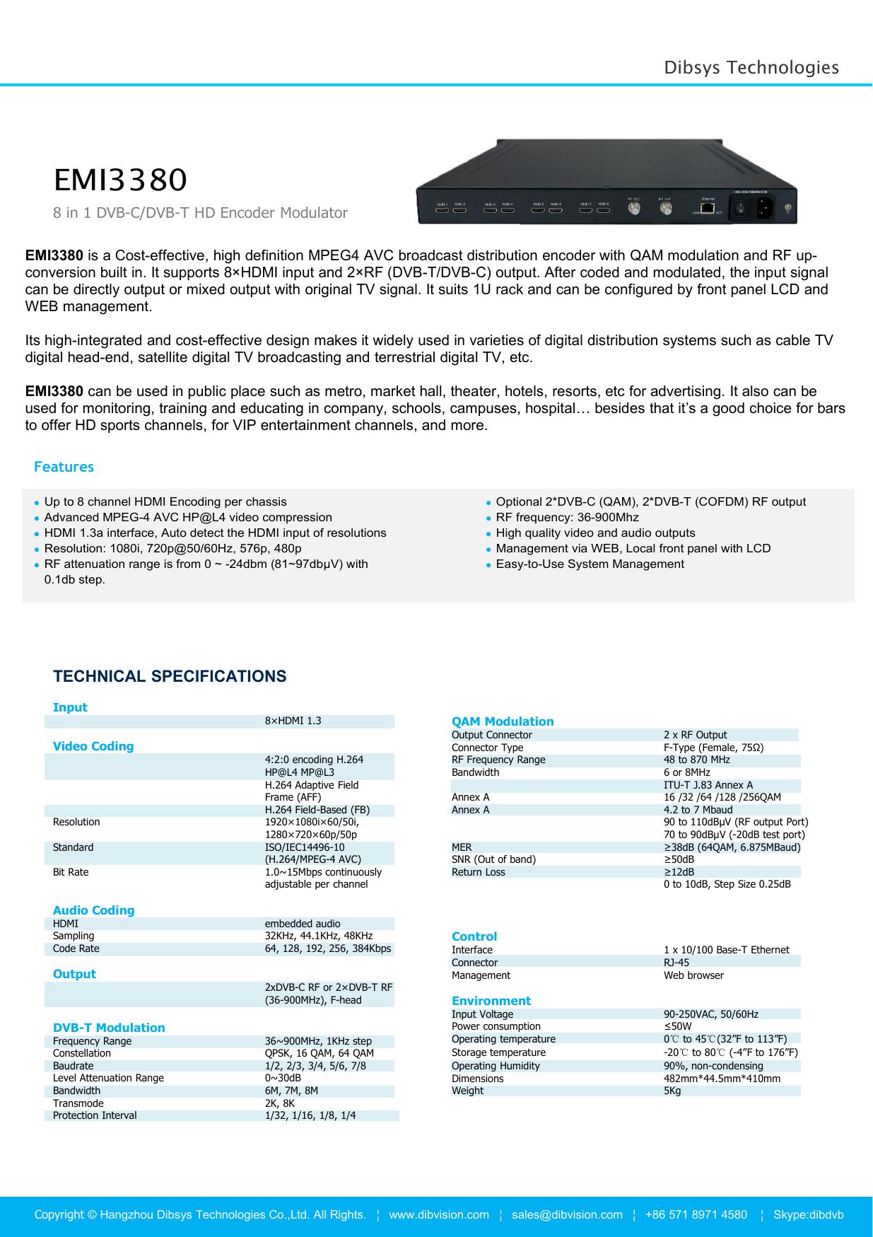 EMI3380 - Hangzhou CHIXUN Technologies Co., Ltd | manualzz.com