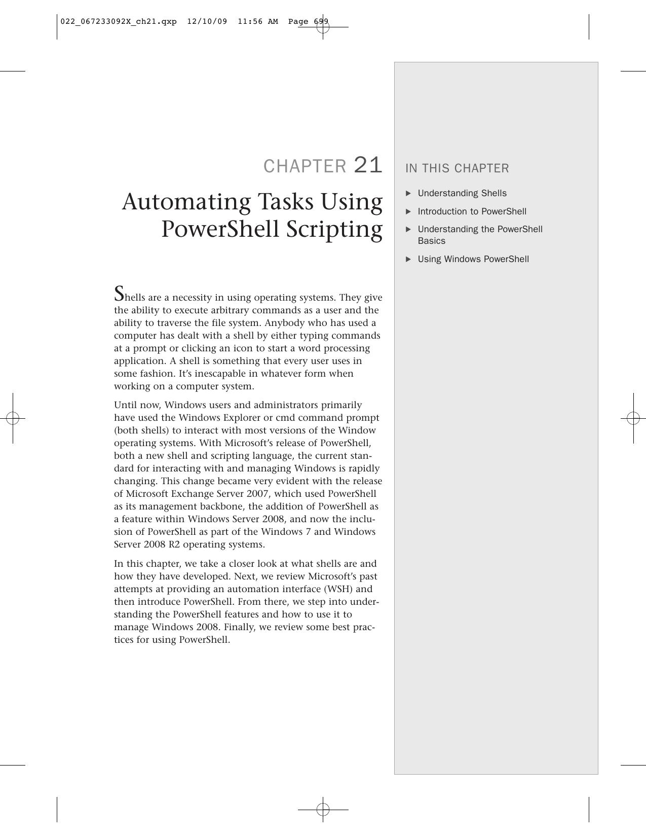 Automating Tasks Using PowerShell Scripting | manualzz com