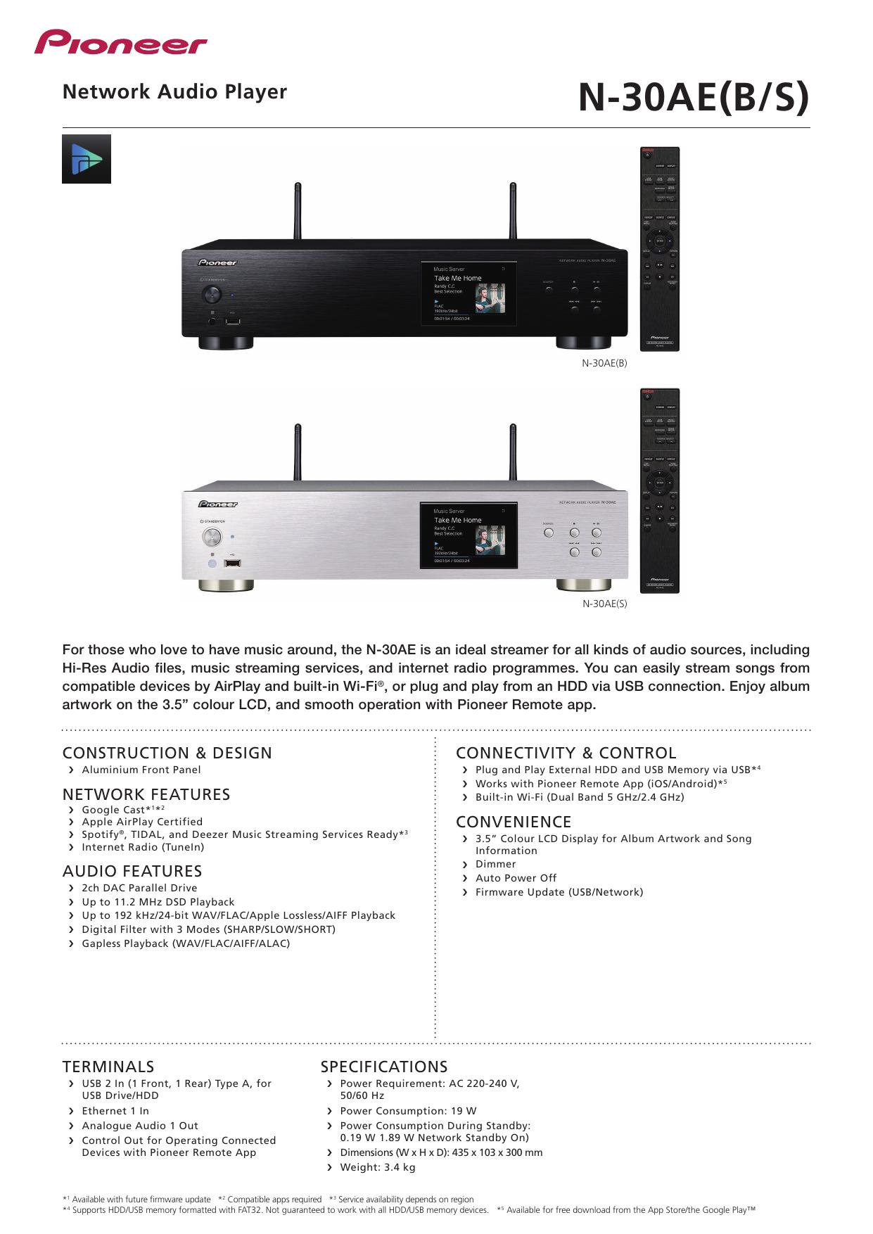N-30AE(B/S) | manualzz com