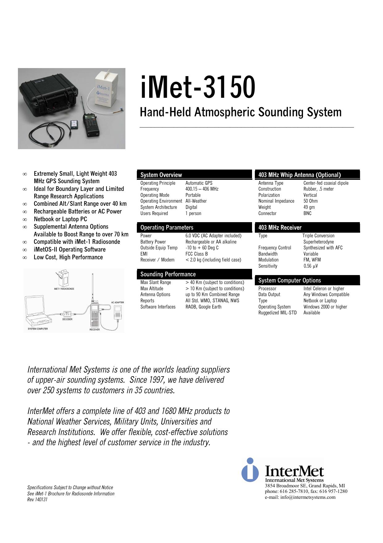 iMet-3150 Data 140131   manualzz com