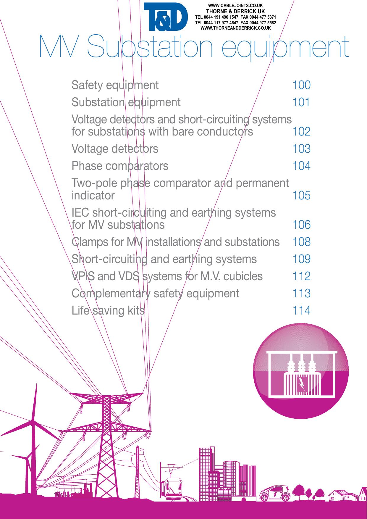 MV Substation equipment | manualzz com