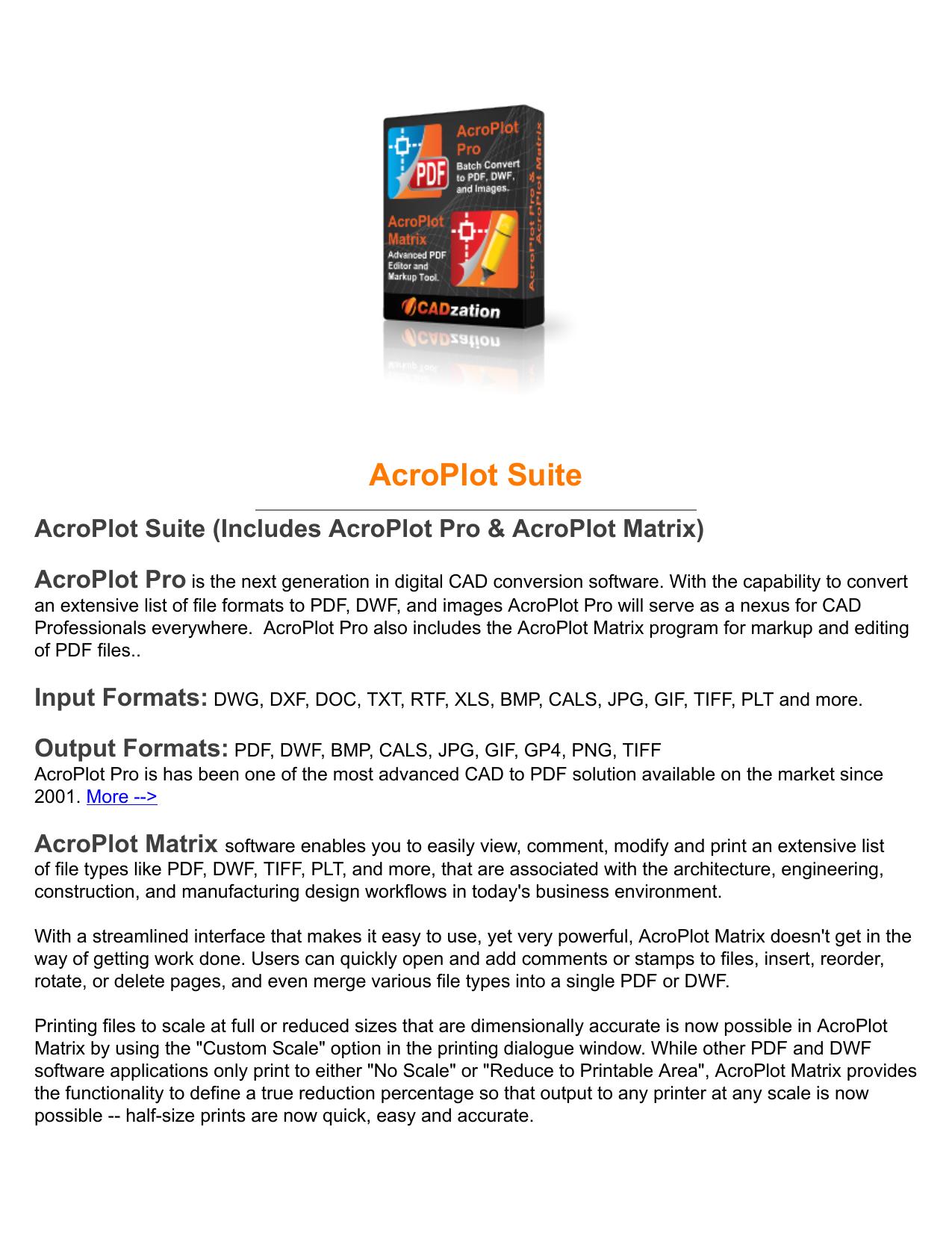 AcroPlot Pro   manualzz com