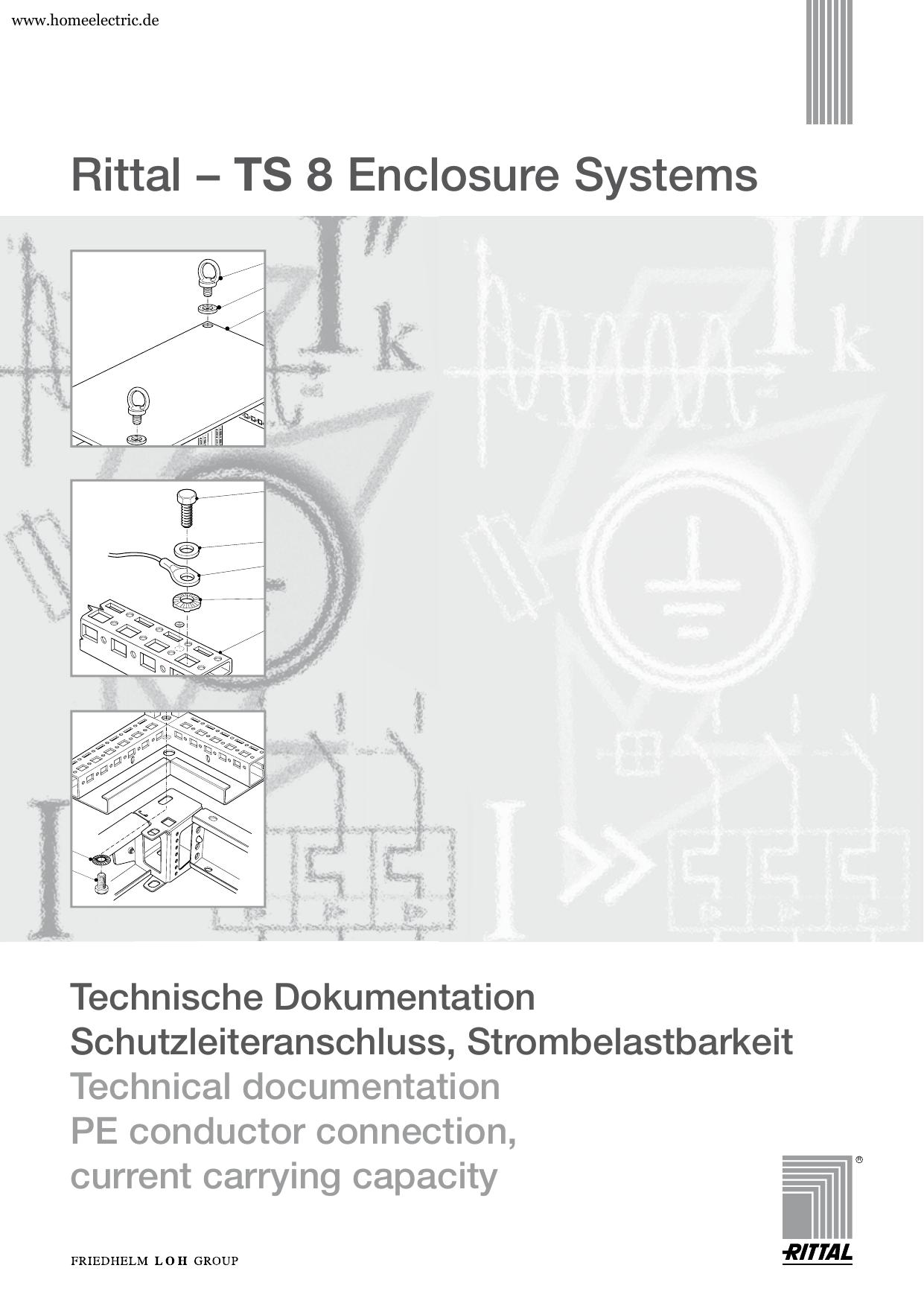TS 8 Technische Dokumentation Schutzleiteranschluss   Manualzz