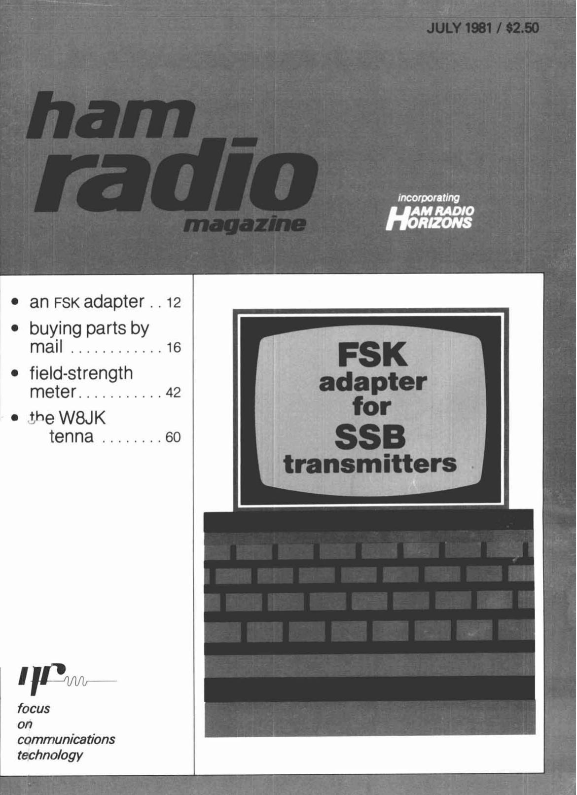 Ham Radio Magazine 1981 Basic Infrared Transmitter Circuit Lm567