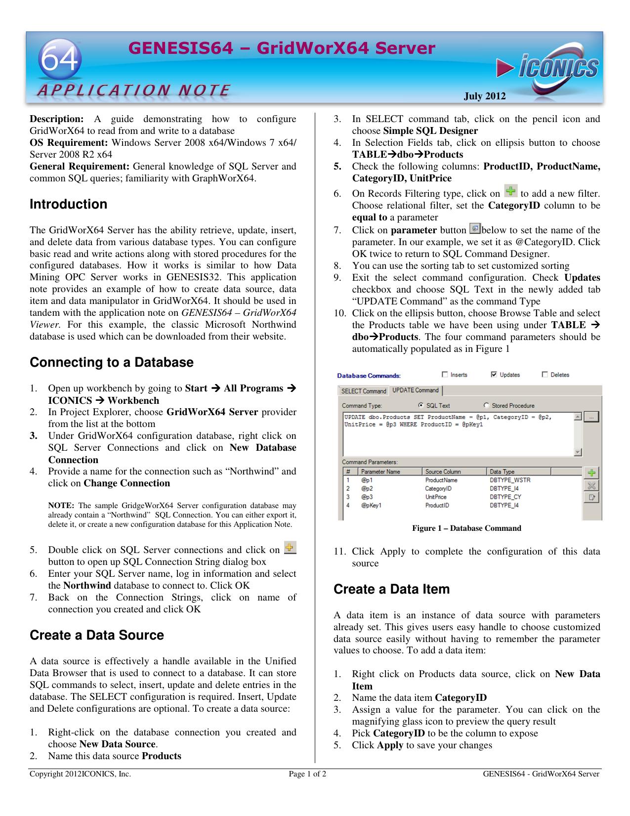 GENESIS64 – GridWorX64 Server | manualzz com
