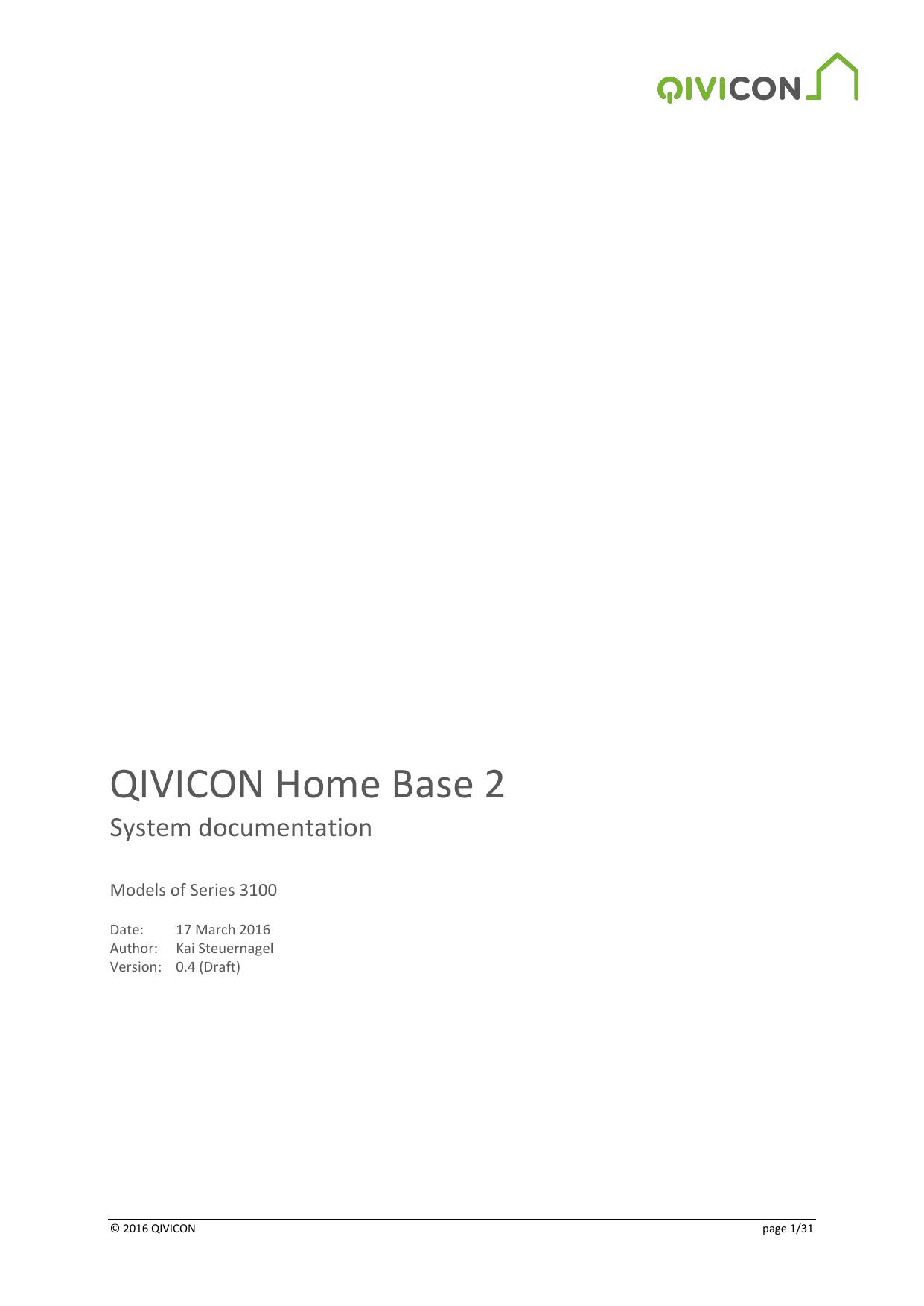 Qivicon Home Base 2 Manualzz Com