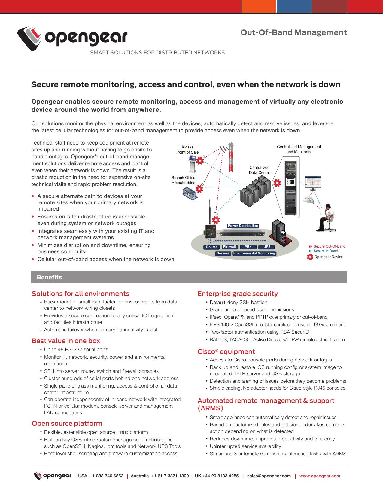 Secure remote monitoring, access and control, even | manualzz com