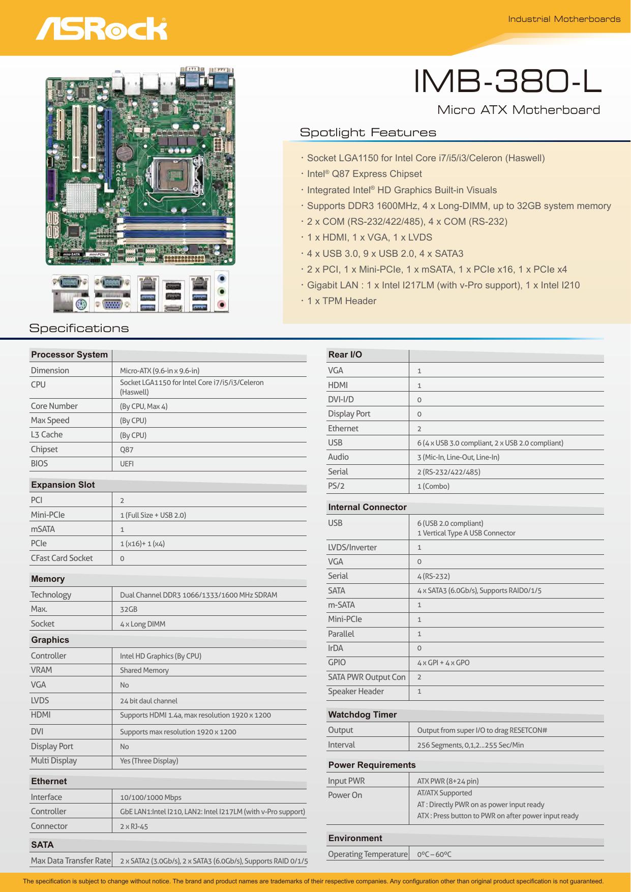 ASROCK IMB-380-L INTEL GRAPHICS DRIVERS FOR PC