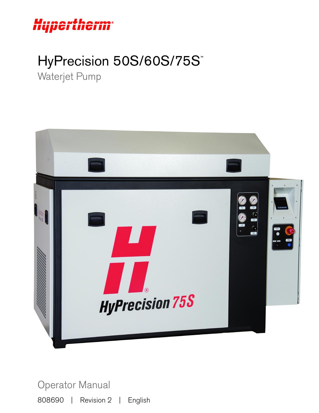 HyPrecision 50S/60S/75S   manualzz com