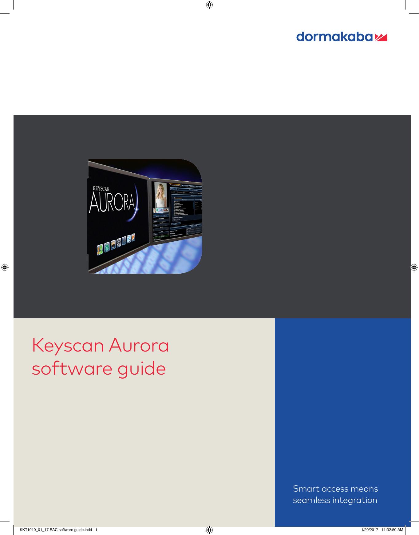Keyscan Aurora software guide - Keyscan Access Control