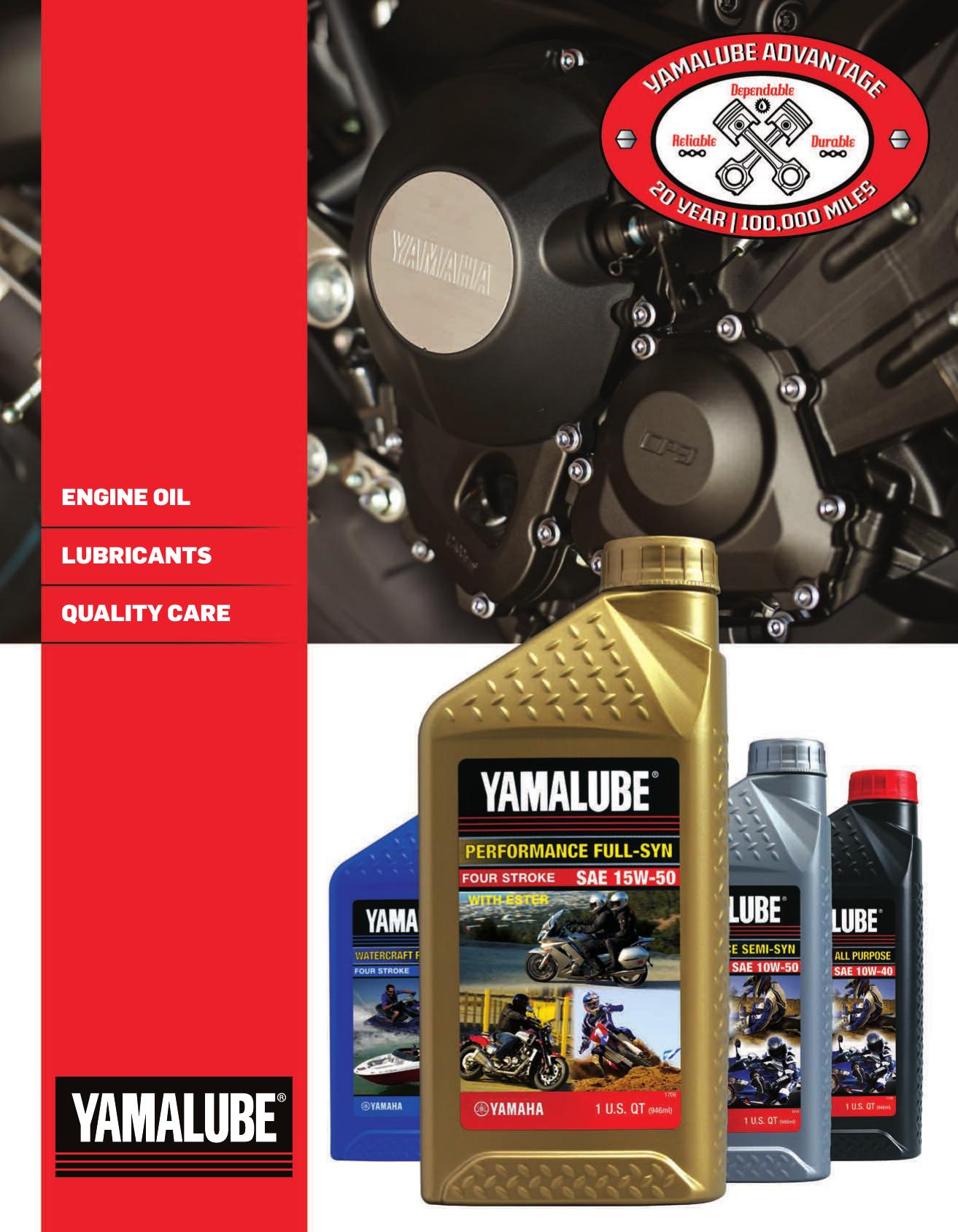 Yamalube Catalog | manualzz com