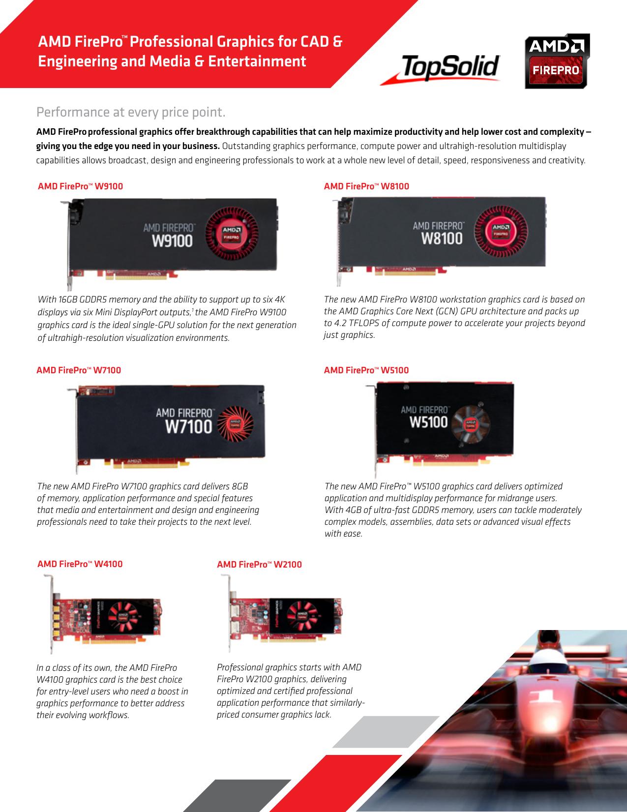 AMD FirePro™Professional Graphics for CAD | manualzz com