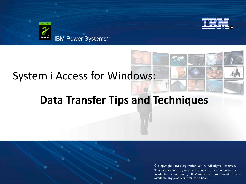 System i Access for Windows   manualzz com