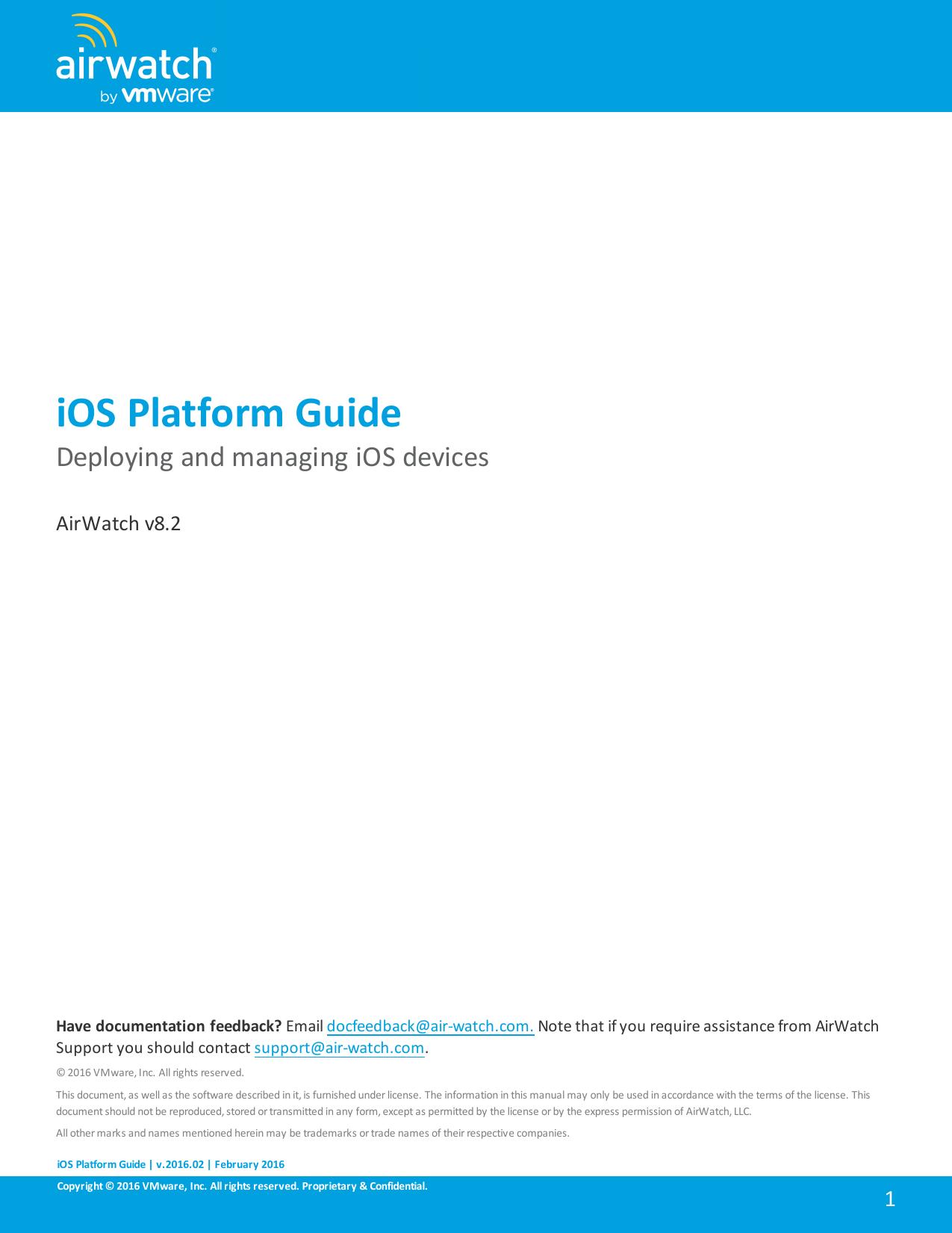 AirWatch iOS Platform Guide   manualzz com