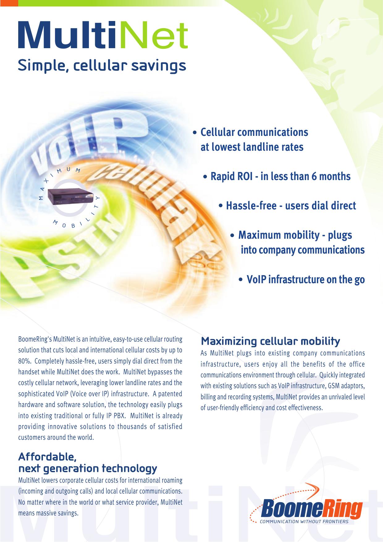 MultiNet - Evercom | manualzz com