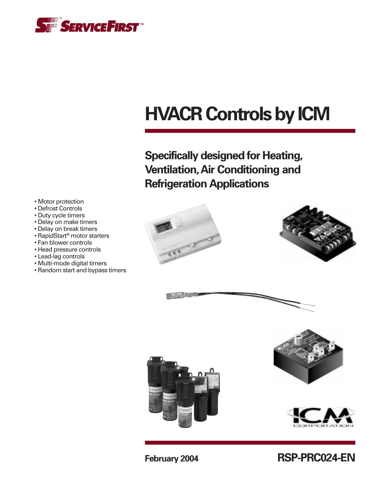 ICM Controls ICM203FB Delay On Make Timer