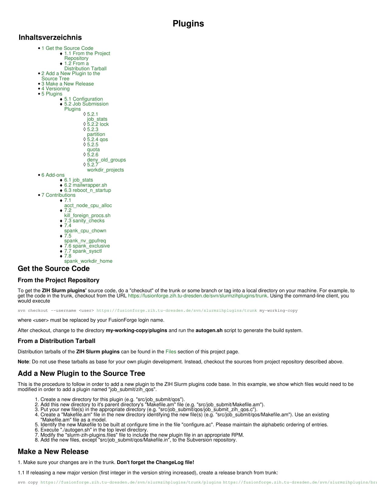 Plugins - FusionForge | manualzz com