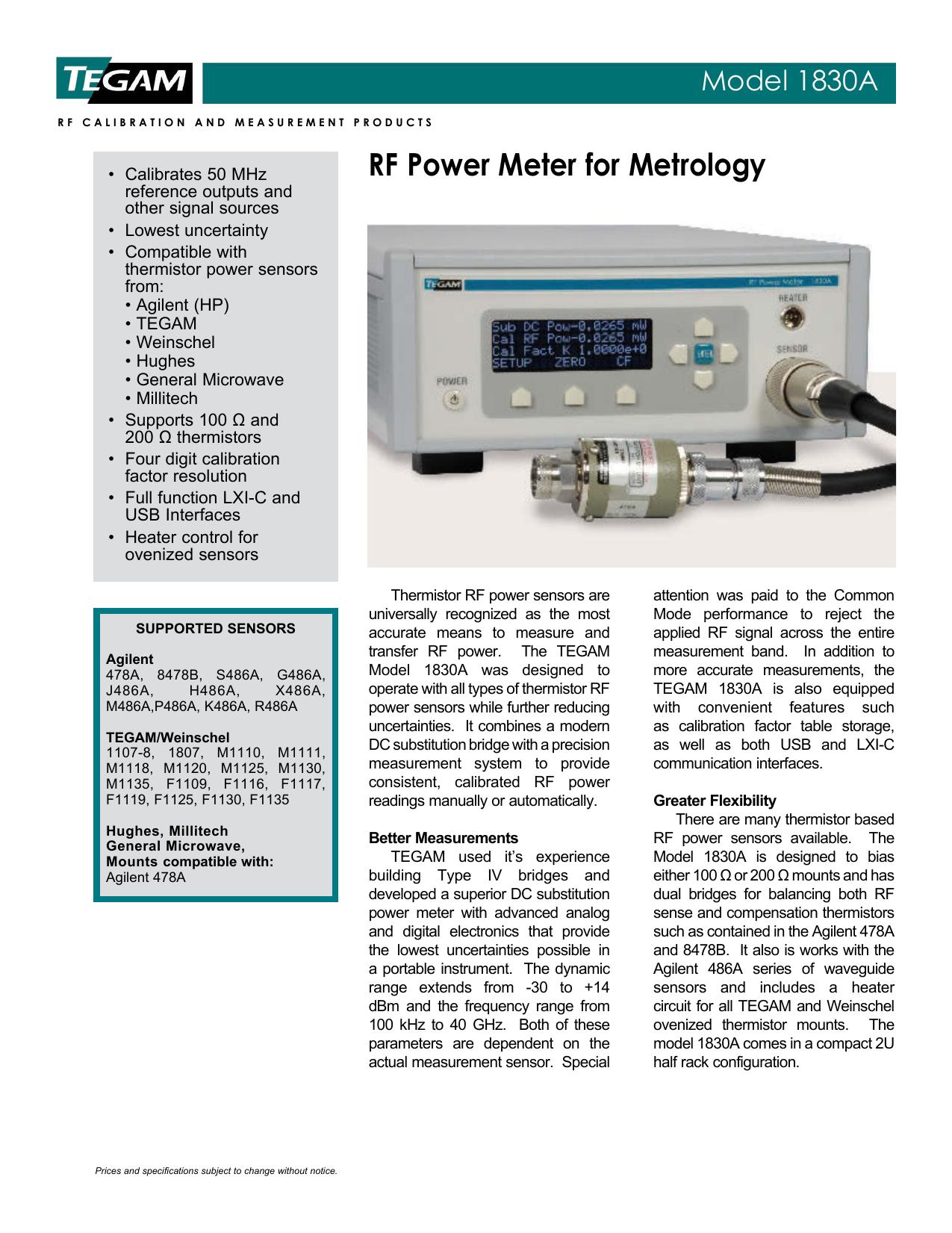 AGILENT RF POWER METER IVI 64BIT DRIVER