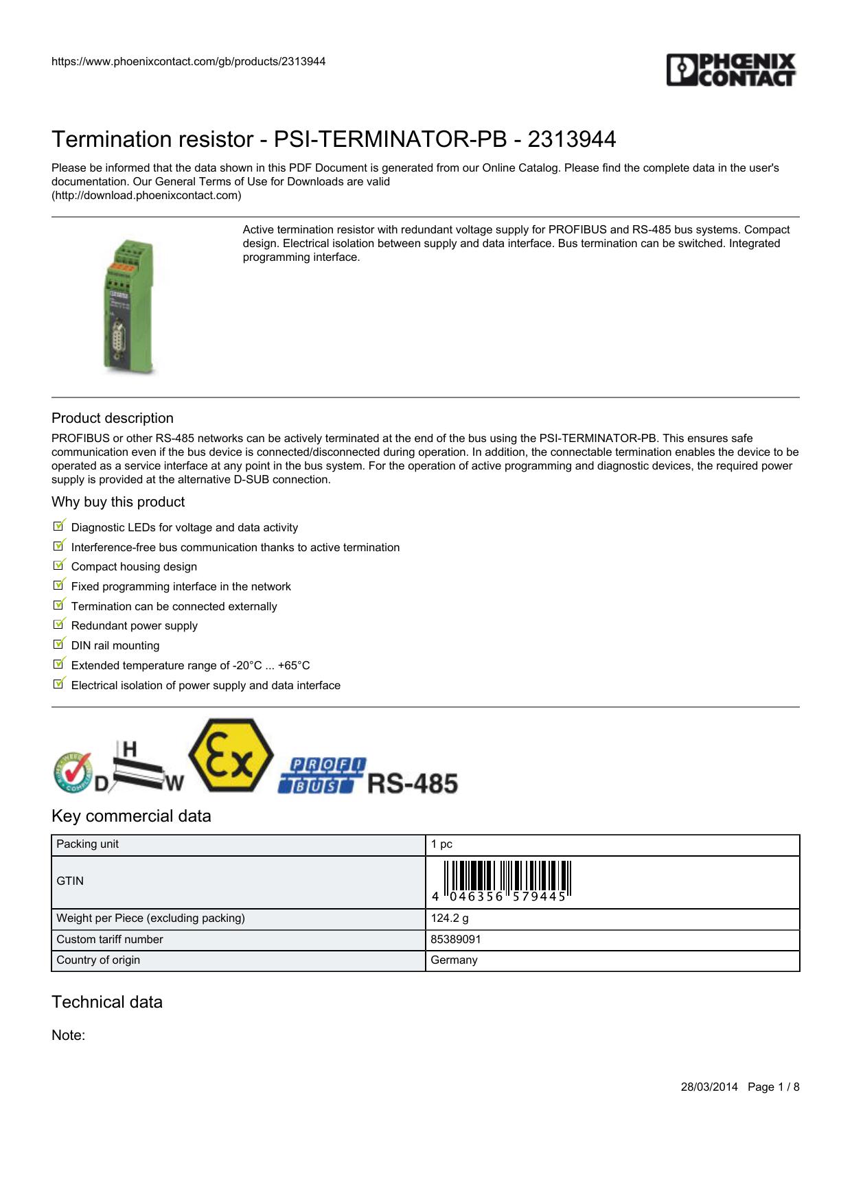 D-Sub Standard Connectors SUBCON-PLUS-PRO FIB//PG//FC 90