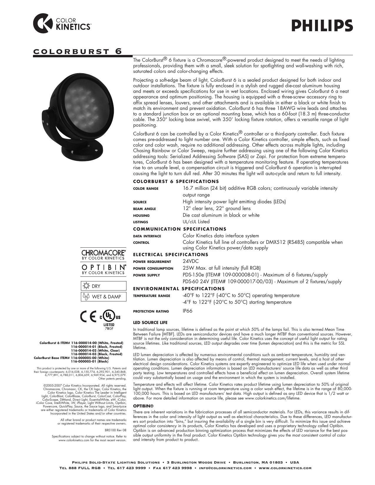Colorburst 6 Manualzz