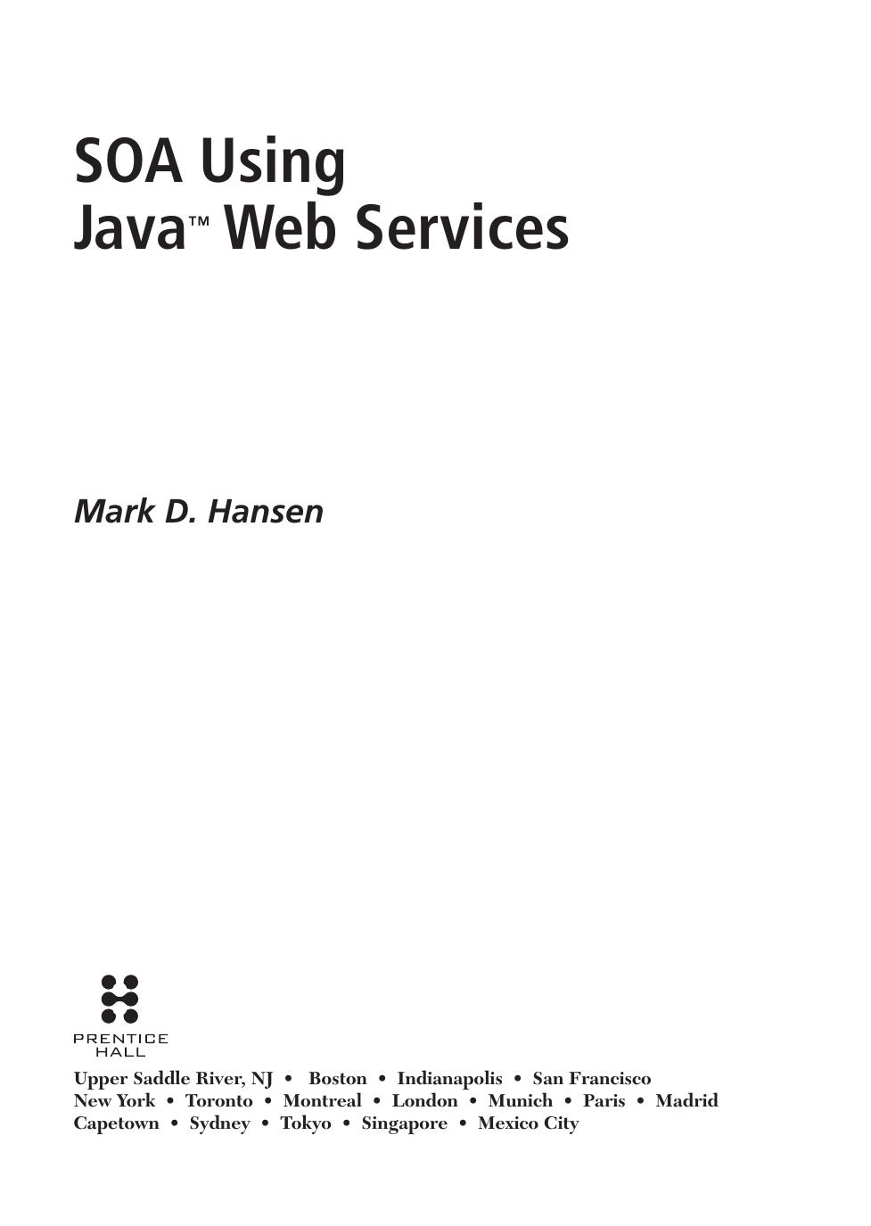 SOA Using Java™ Web Services - X | manualzz com