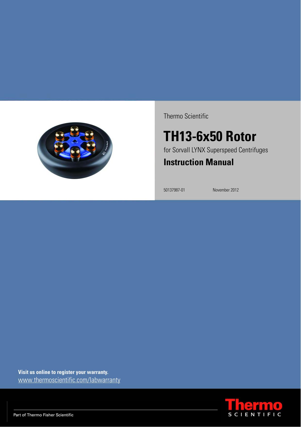 thermo fisher scientific user manuals