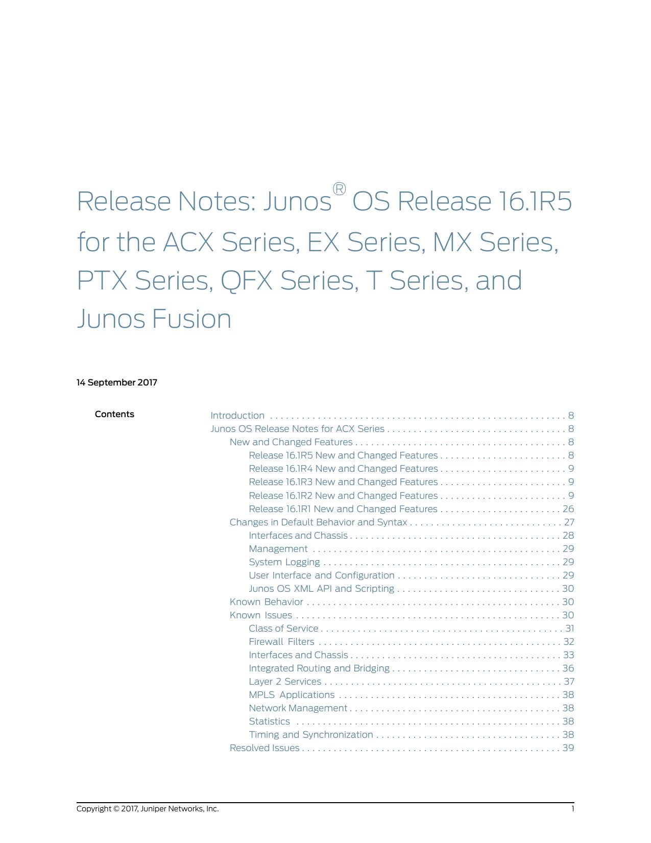Release Notes - Juniper Networks   manualzz com