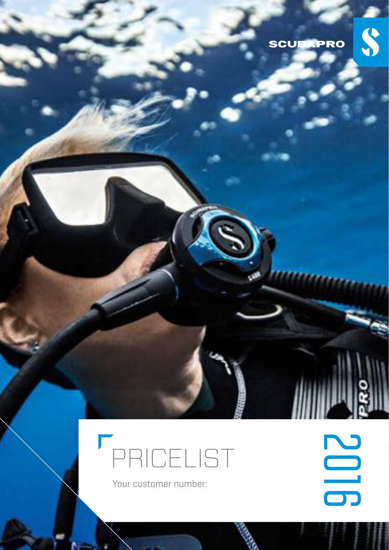 pricelist - Scubatom | manualzz com
