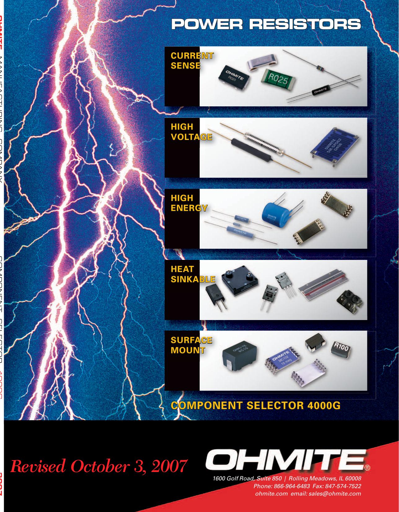 Ohmite Brown Devil 5 Watt Wirewound Power Resistor 25K Ohm Single Piece