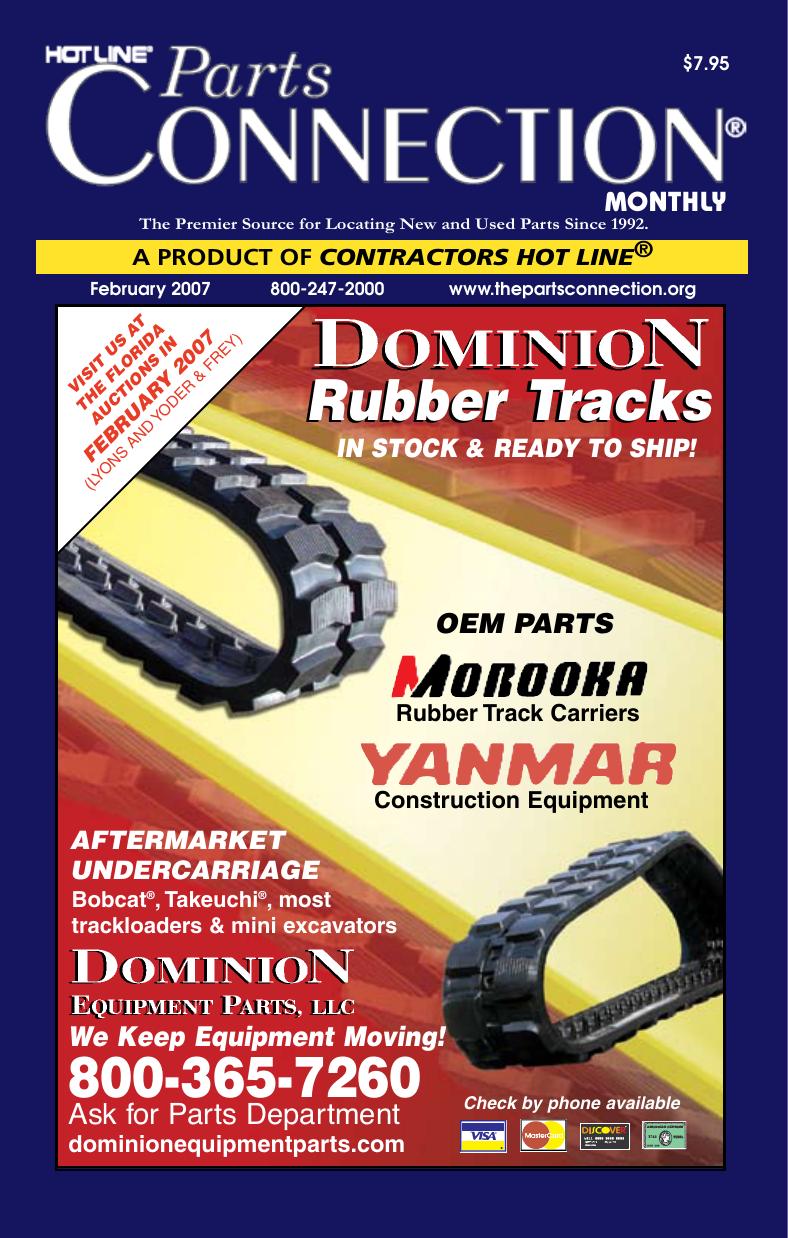 Rubber Tracks - Parts Connection | manualzz com
