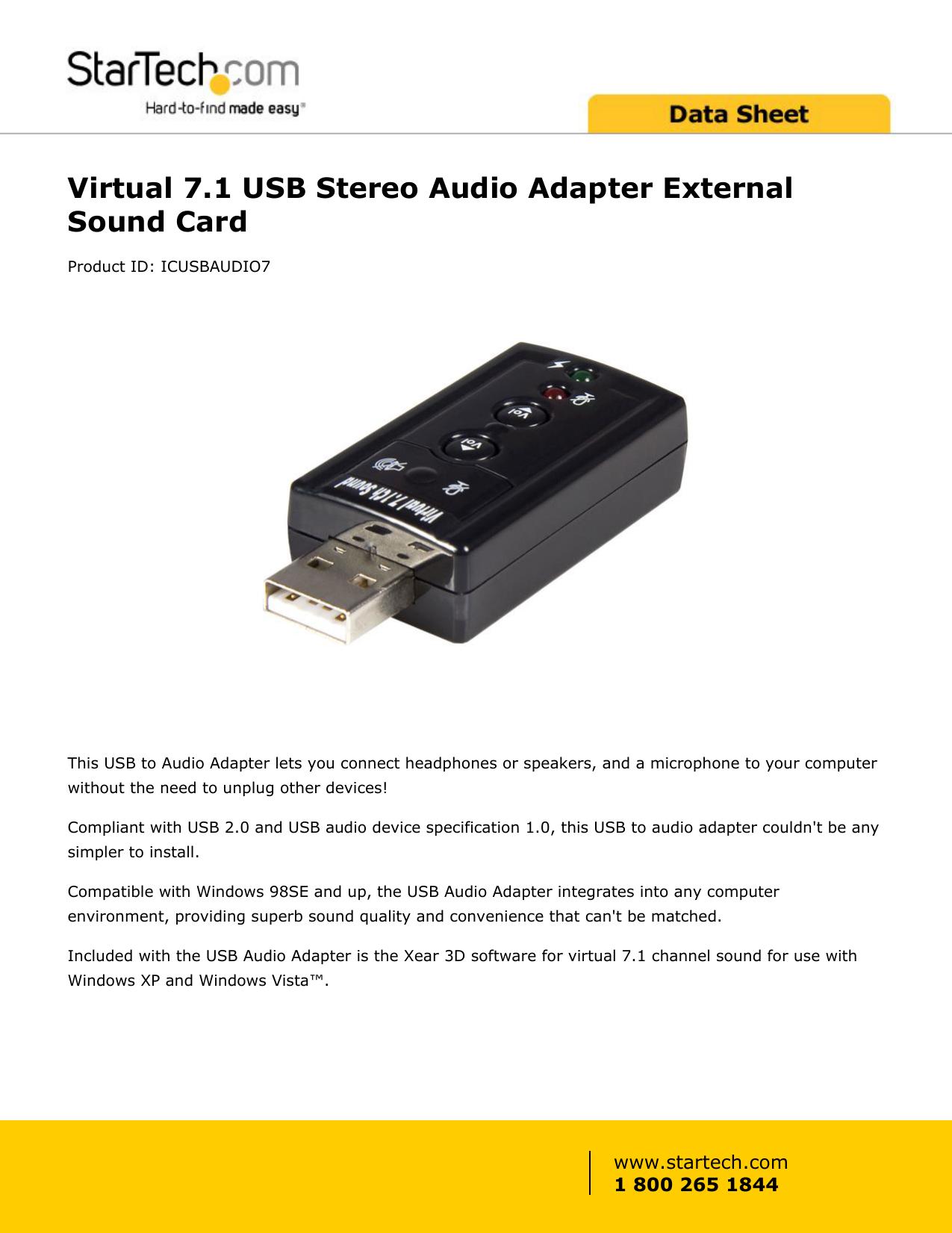C MEDIA CM108 XEAR 3D VIRTUAL 7.1 USB AUDIO DRIVER FOR PC