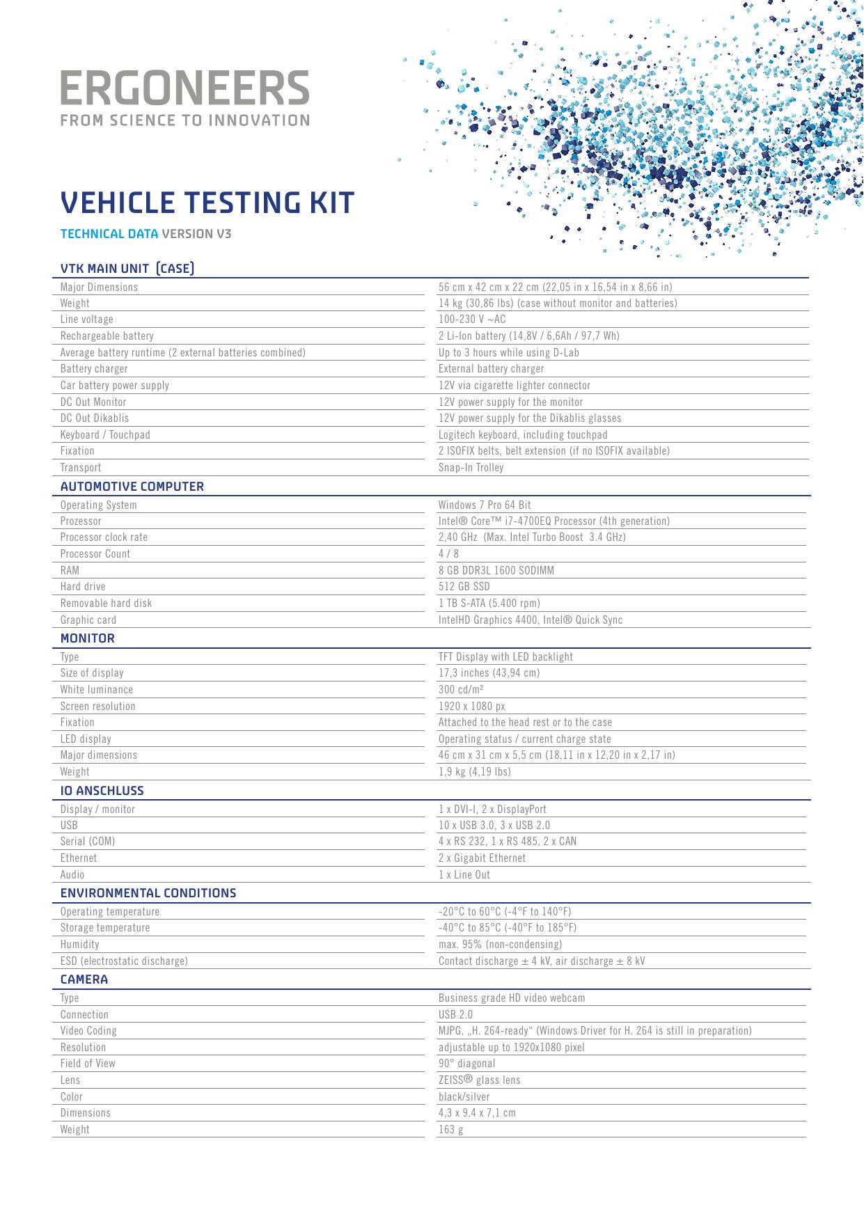vehicle testing kit | manualzz com