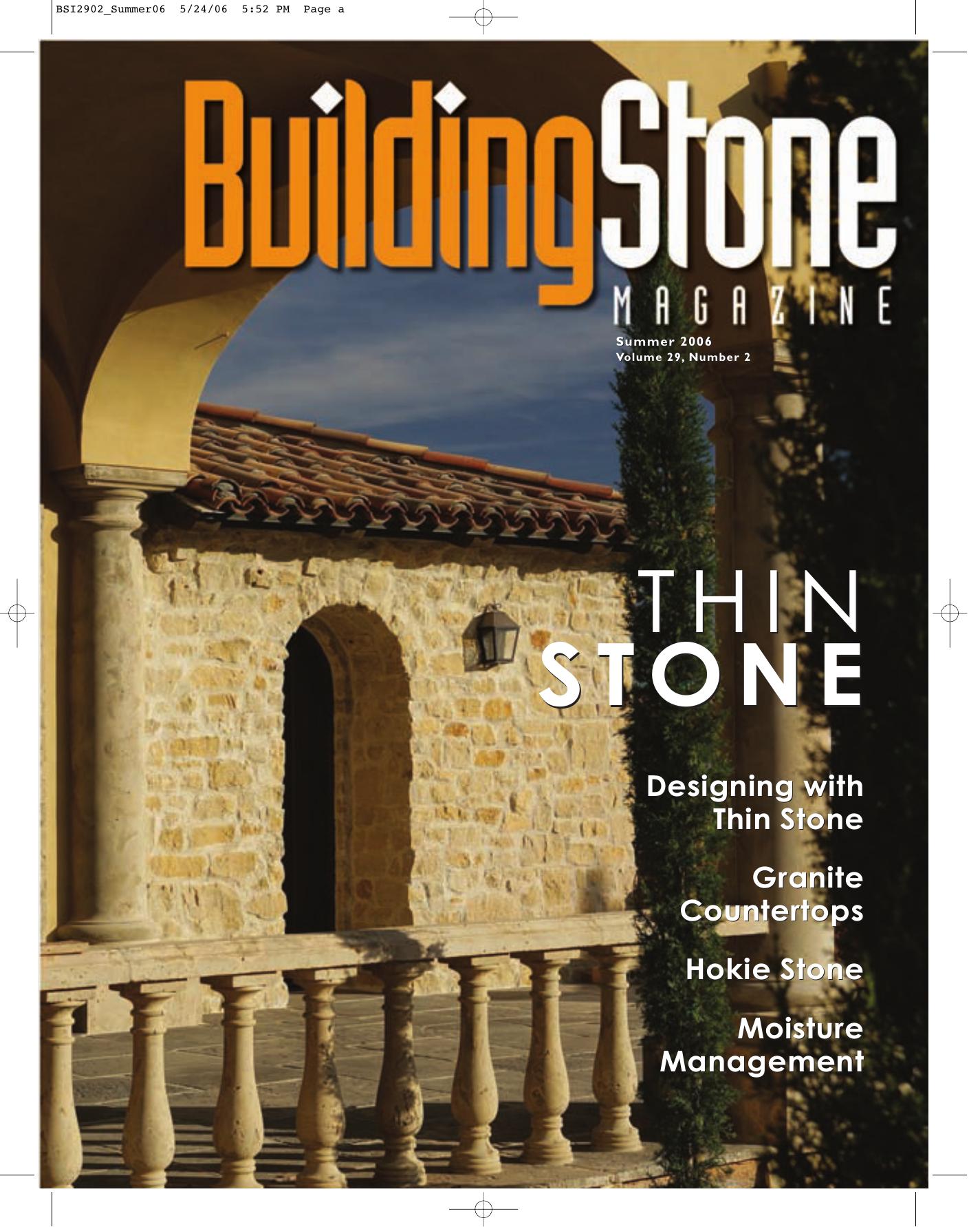thin stone thin stone - Building Stone Institute | manualzz com