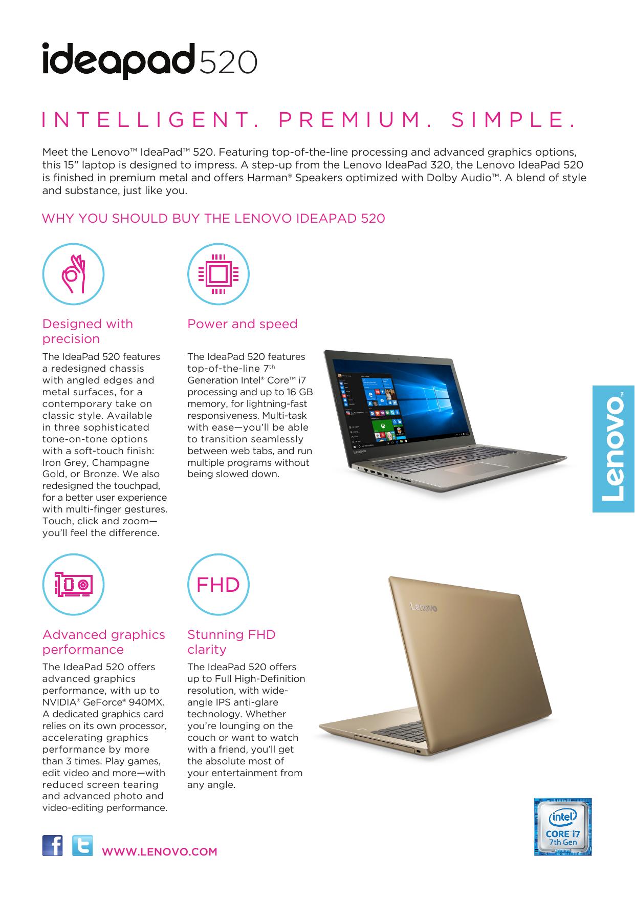 Lenovo IdeaPad 520-15IKB | manualzz com