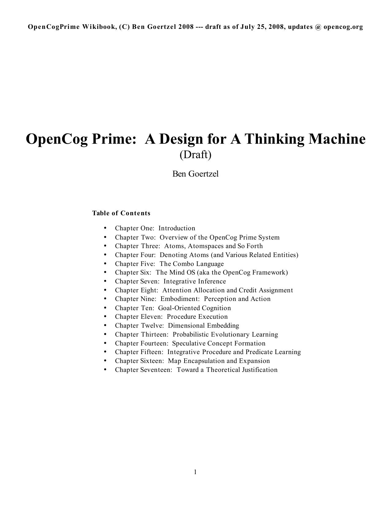 OpenCog Prime   manualzz.com