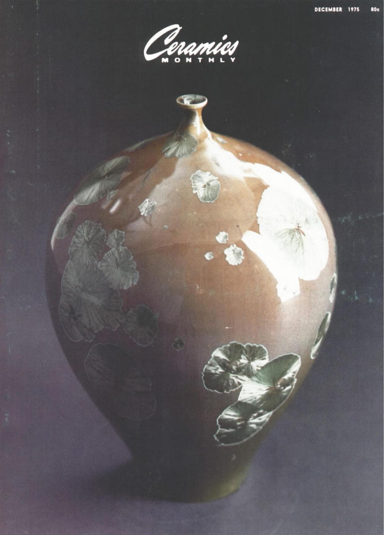 Mayco Ceramic Crystal Glaze Vintage 4 OZ 766 Snow Flower