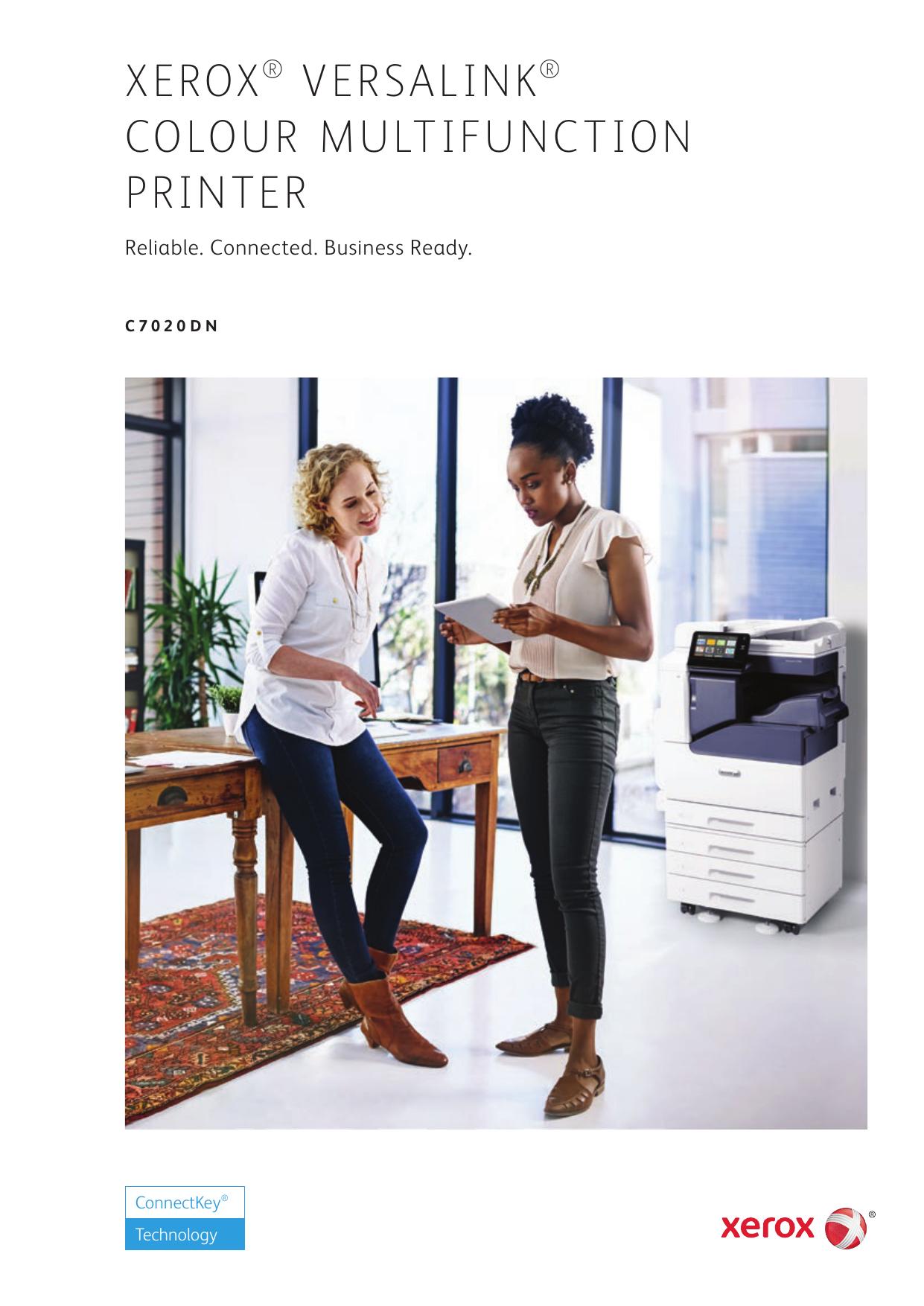 Xerox VersaLink C7020DN Color Multifunction Printer Brochure