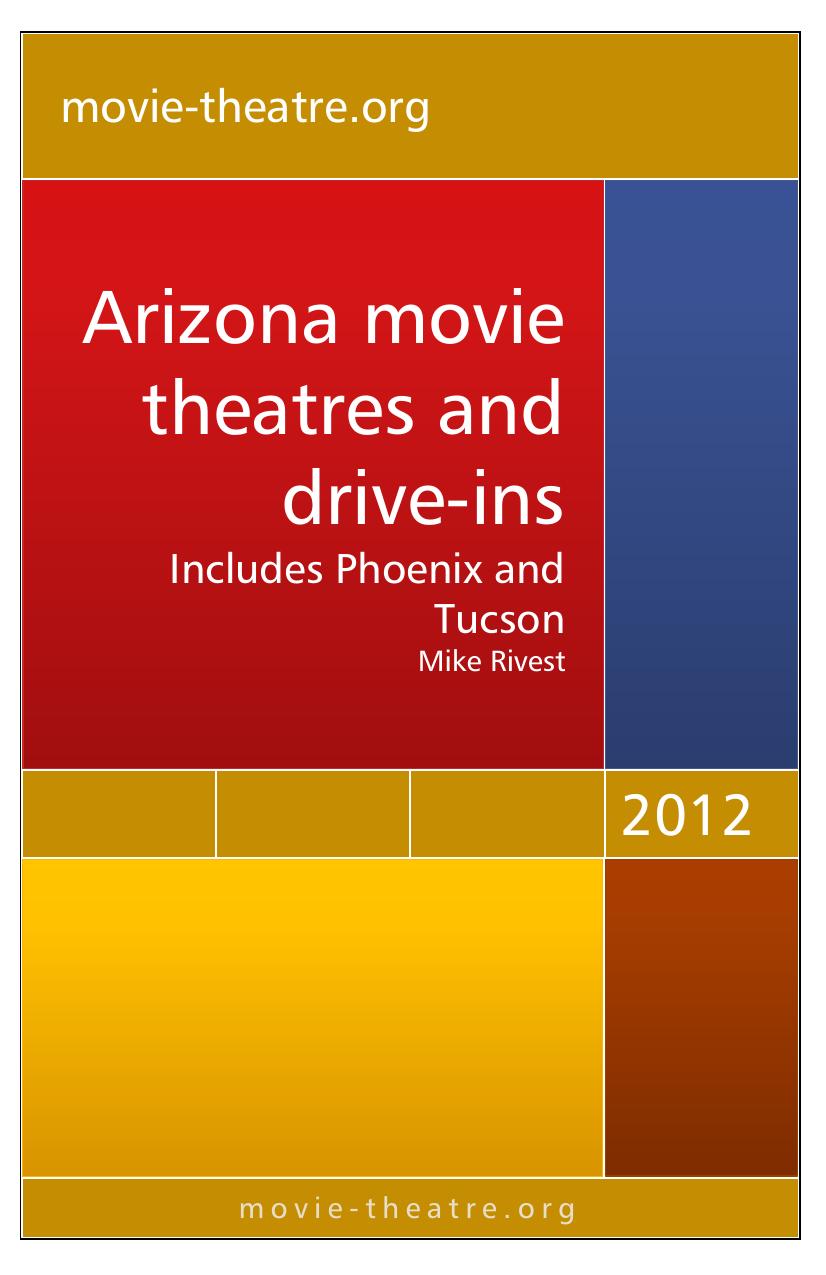 Arizona movie theatres and drive-ins   manualzz com