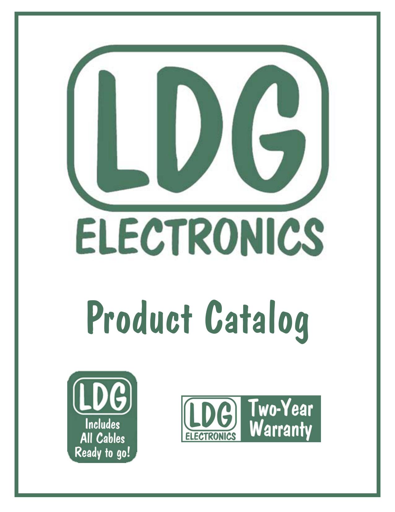 ldg cover pub - LDG Electronics | manualzz com