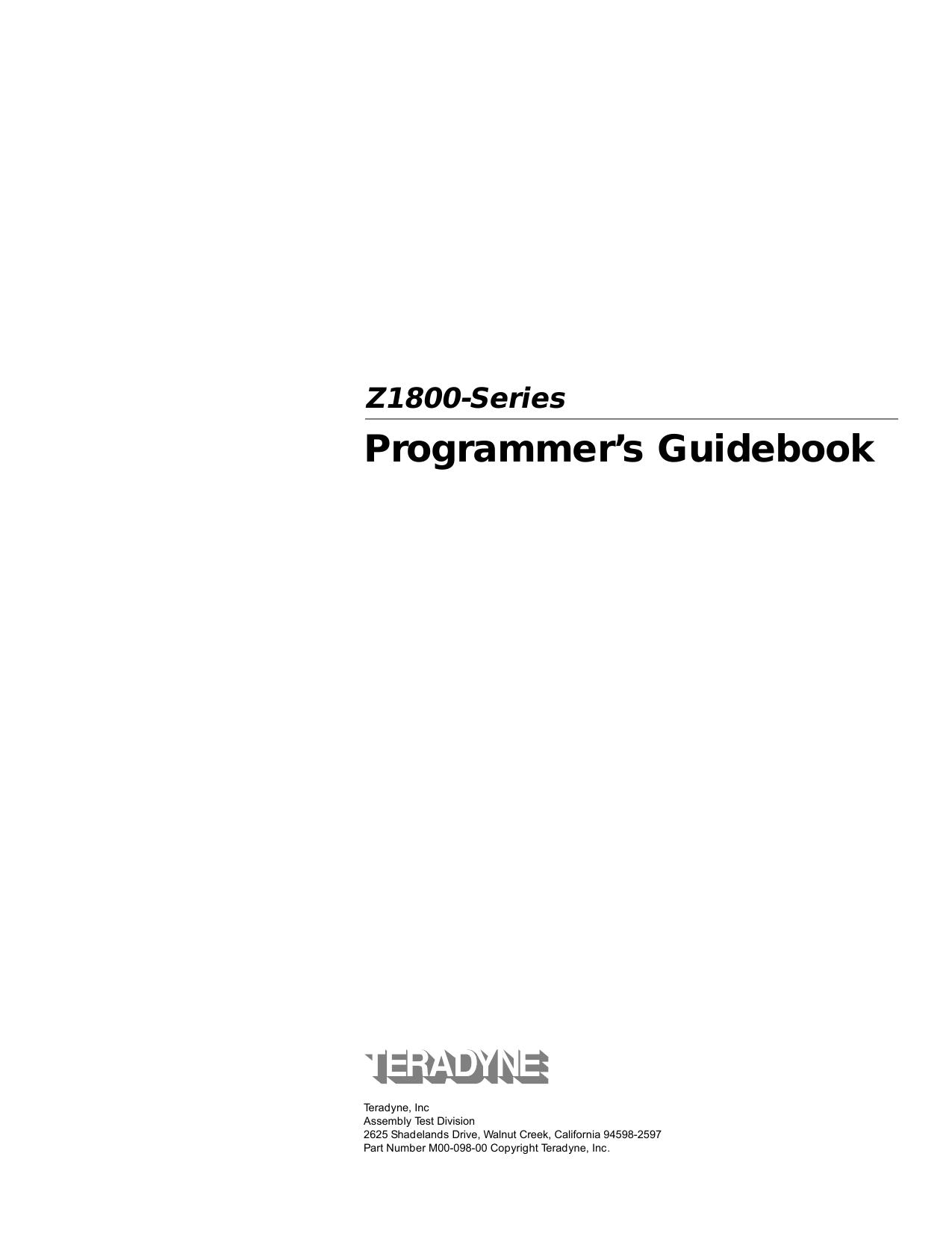 Programmer`s Guidebook | manualzz com