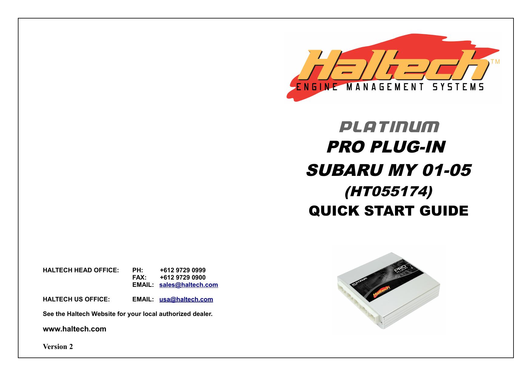 platinum pro plug-in subaru my 01-05   manualzz.com on