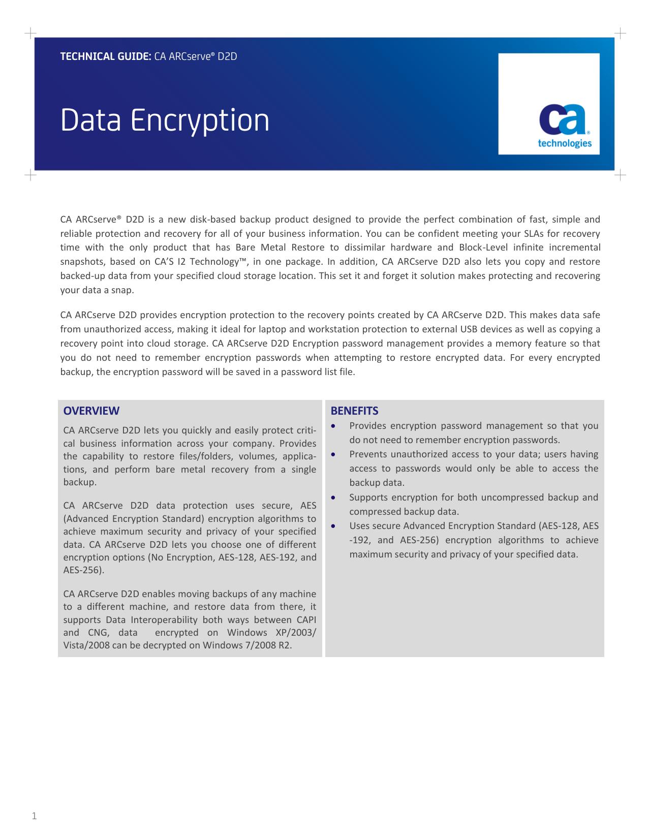 Data Encryption | manualzz com