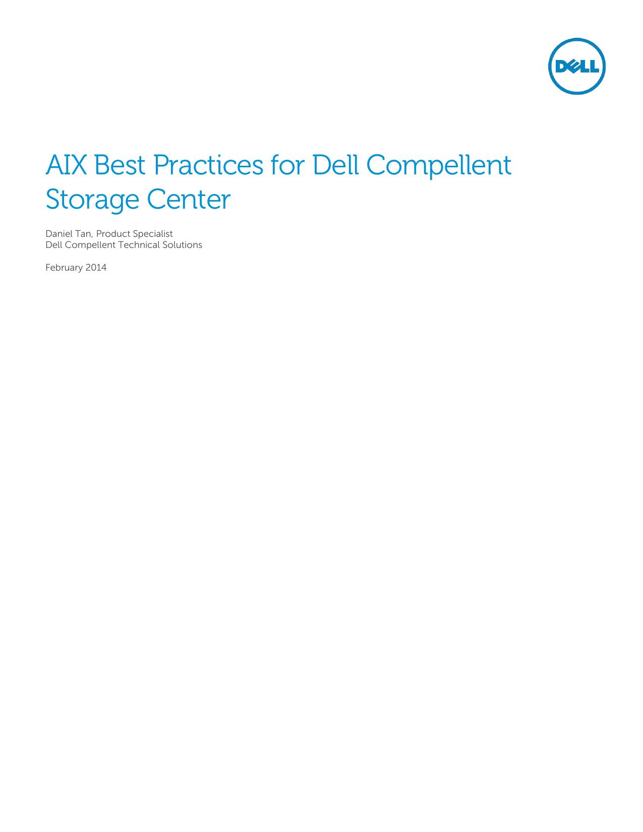 AIX Best Practices for Dell Compellent Storage Center | manualzz com