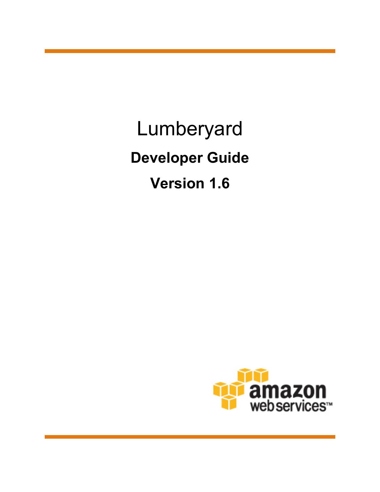 Lumberyard - Developer Guide | manualzz com