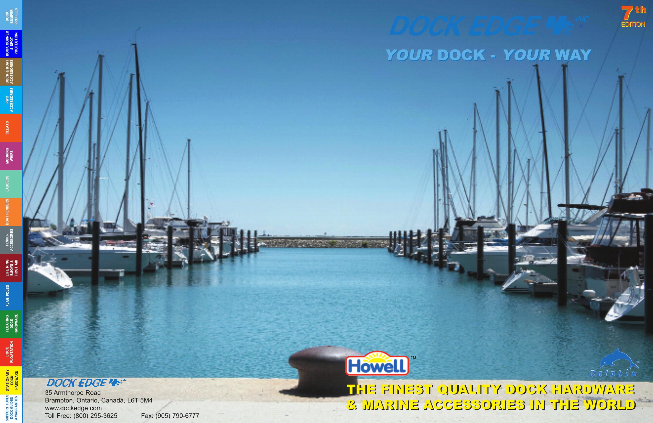 J Hook SS Flush Mount LifeRing Buoys Dock Edge